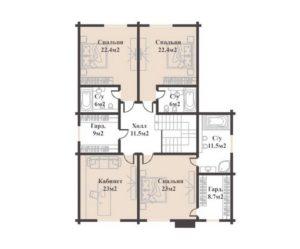 Буковель Вилладж 485,6 кв. м