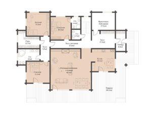 Дом в Комсомольце 432,94 кв. м