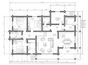 Гостевой дом 169,6 кв. м