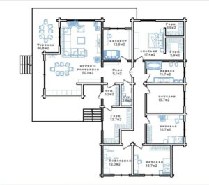 Дом для Романа 214,4 кв. м