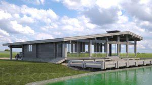 Дом у озера 4