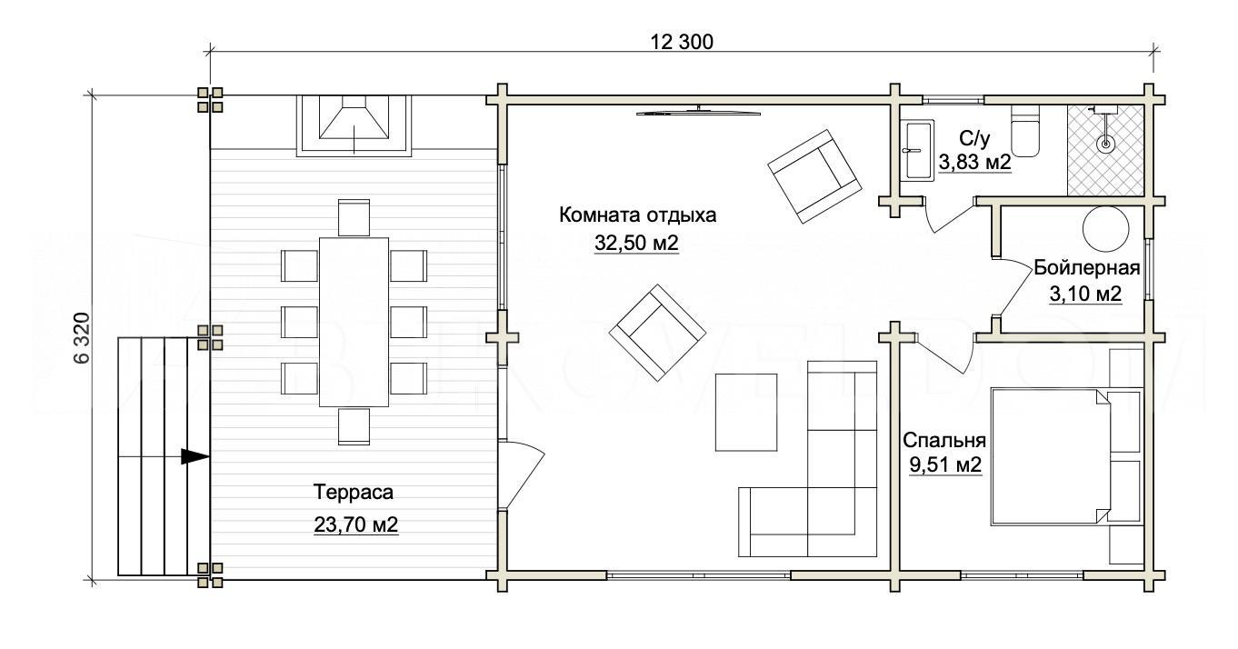 Гостевой дом в Дубовом