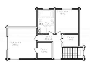 Дом в Троицком