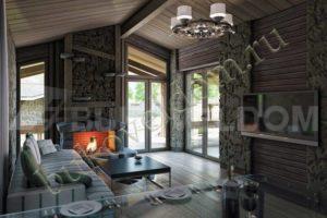 Интерьер дома в Воронеже