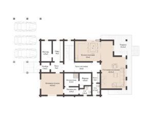 Дом в Ларюшино 501,6 кв. м