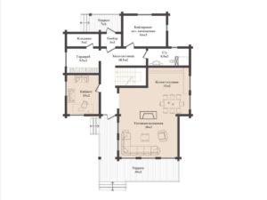 Дом в Малиновке 291,1 кв. м