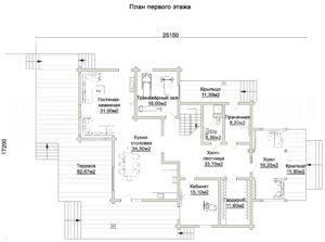 Дом в Истре 386,6 кв. м