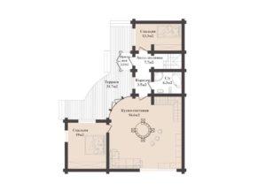 Дом в Железногорске 144,8 кв. м