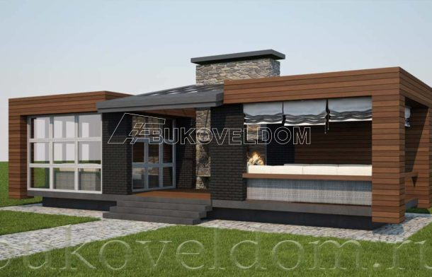 """Летняя кухня - беседка, модель """"patio"""""""