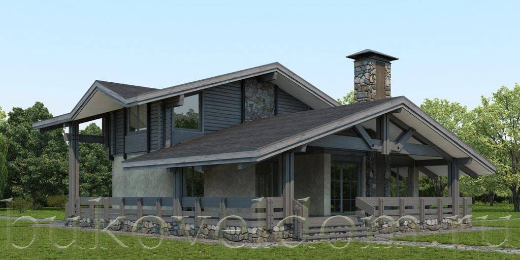 Дом у озера 172,4 кв. м