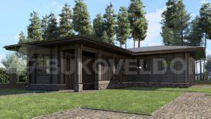 Гостевой дом с гаражом в Мытищах
