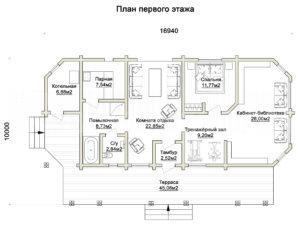 Баня в Дубовом 1