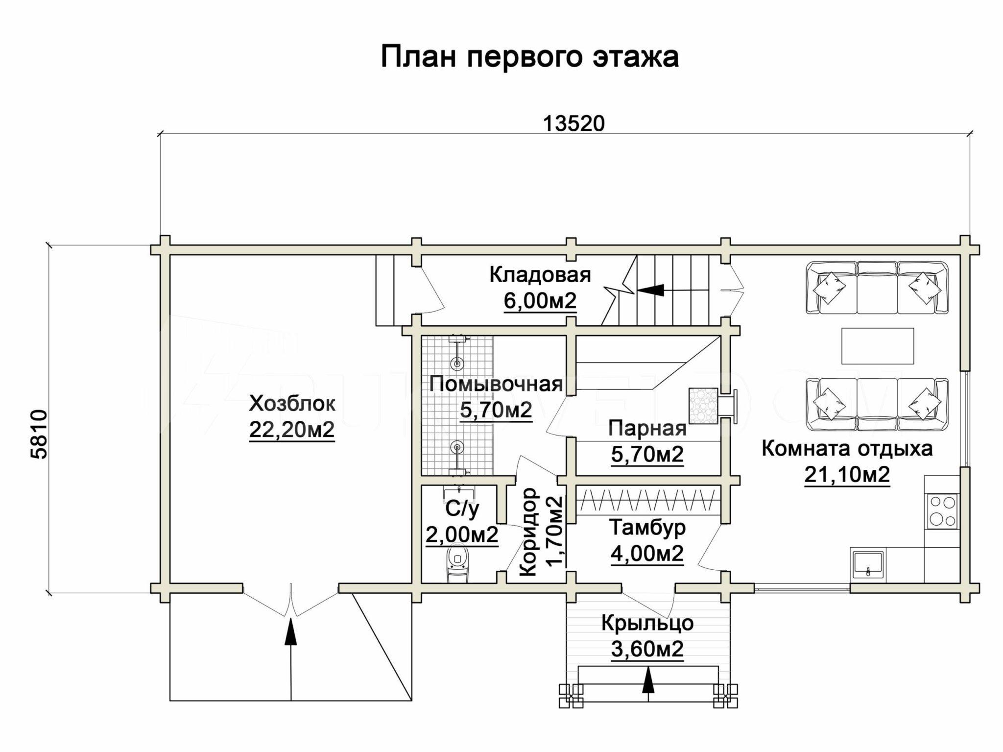 Баня в Иславском