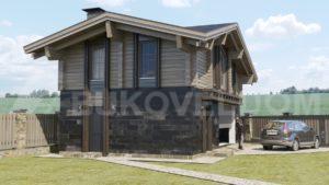 Гостевой дом с гаражом в Чехове