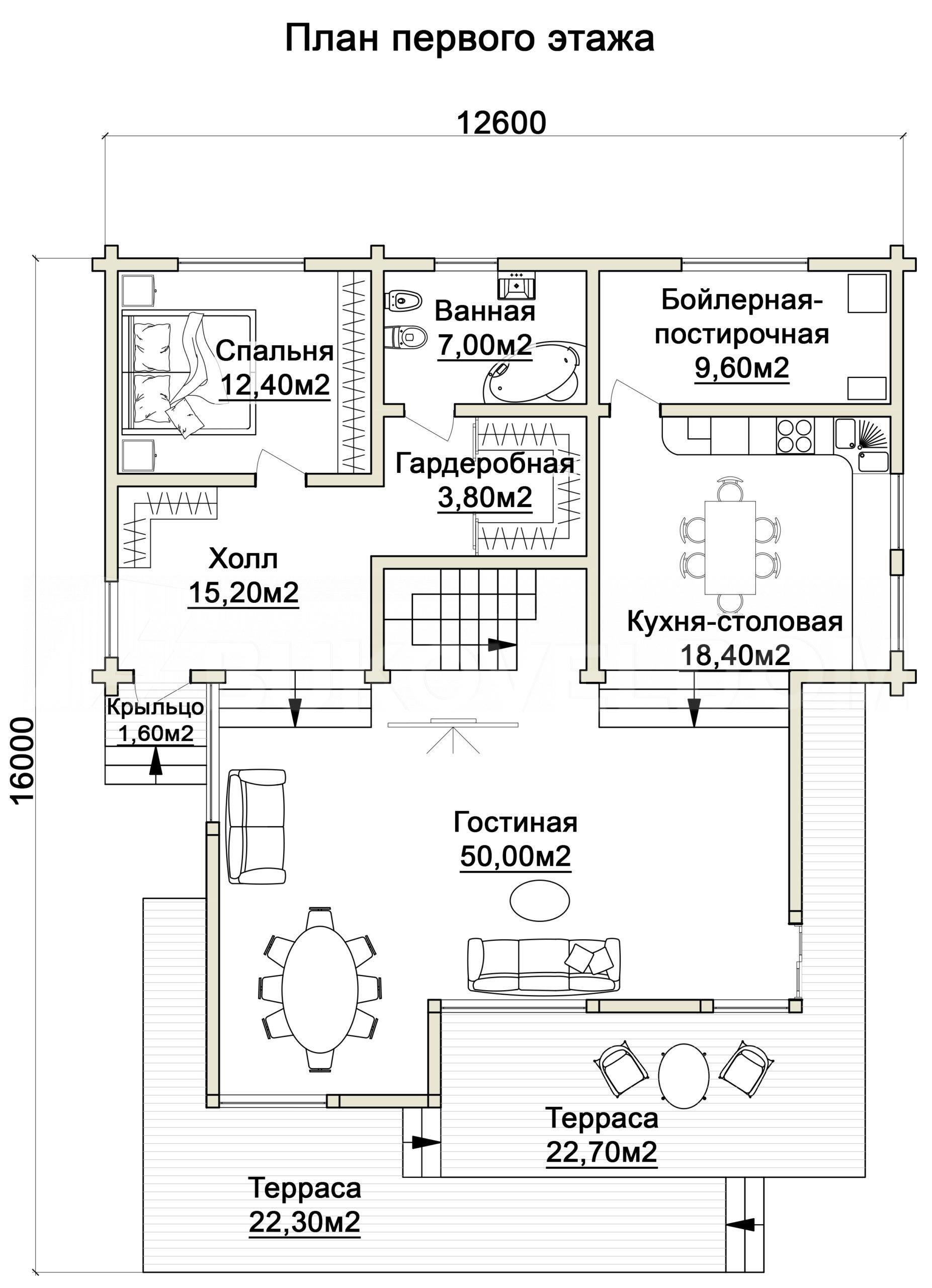 Дом в Новосадовом