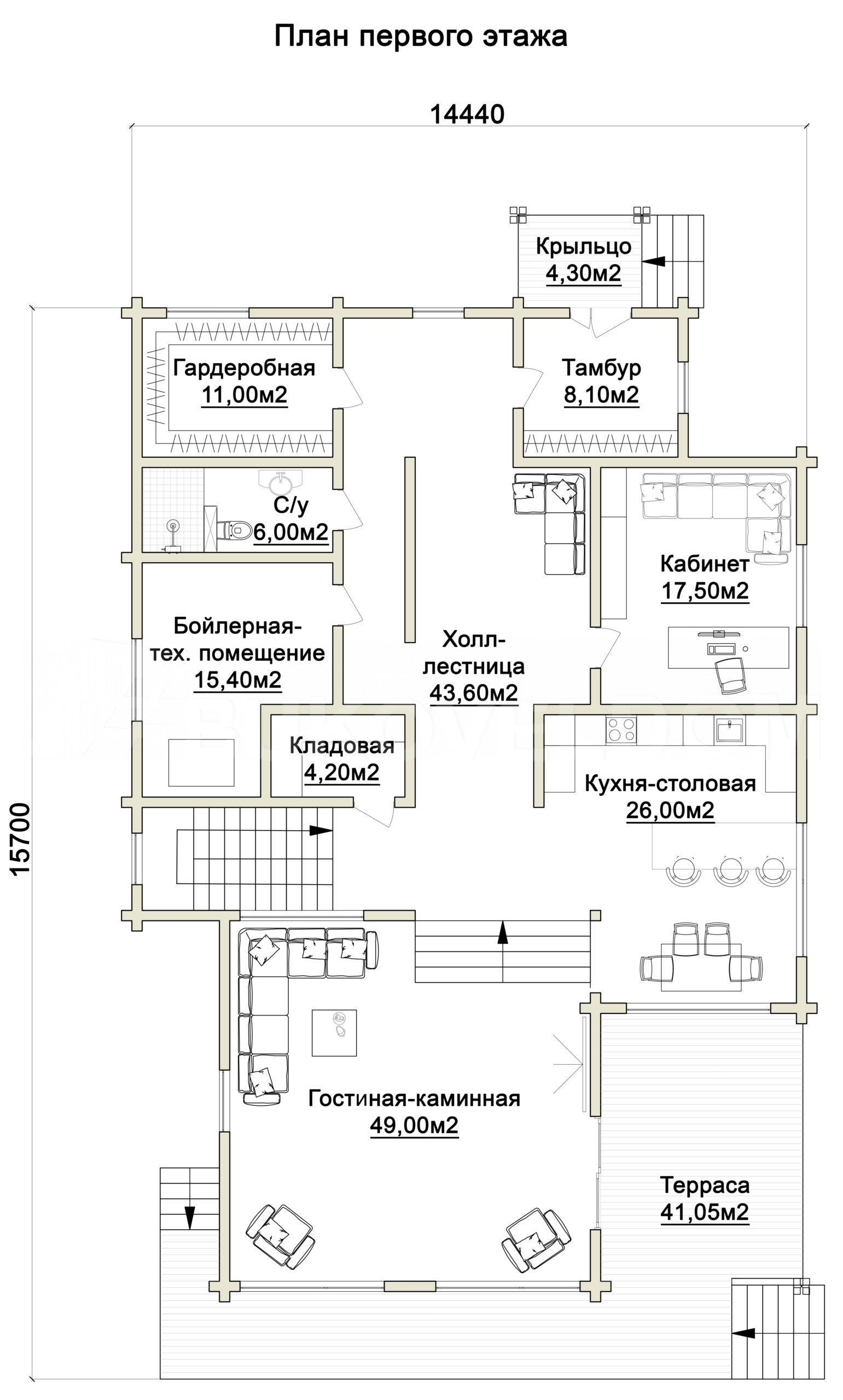 Дом в Озерецком