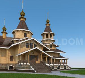 Церковь в Губкине