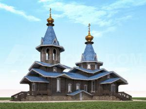 Церковь в Белгороде 1