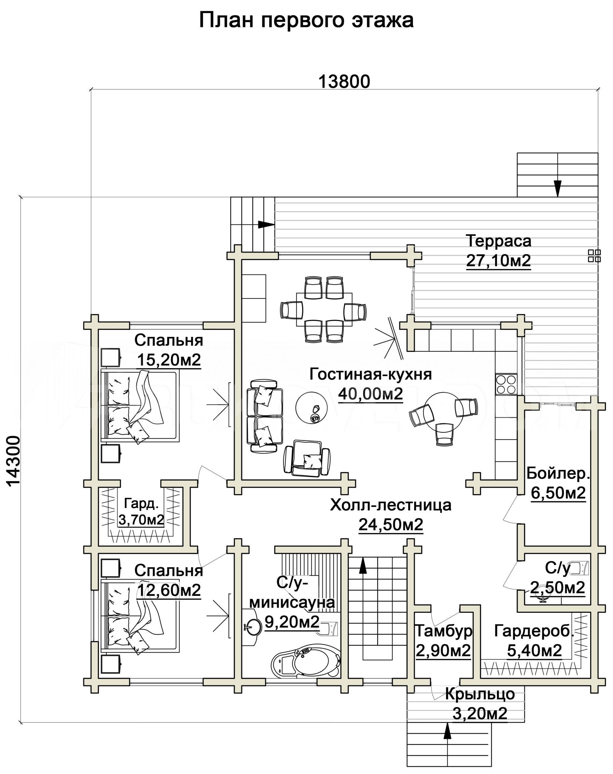 Дом в Звенигороде