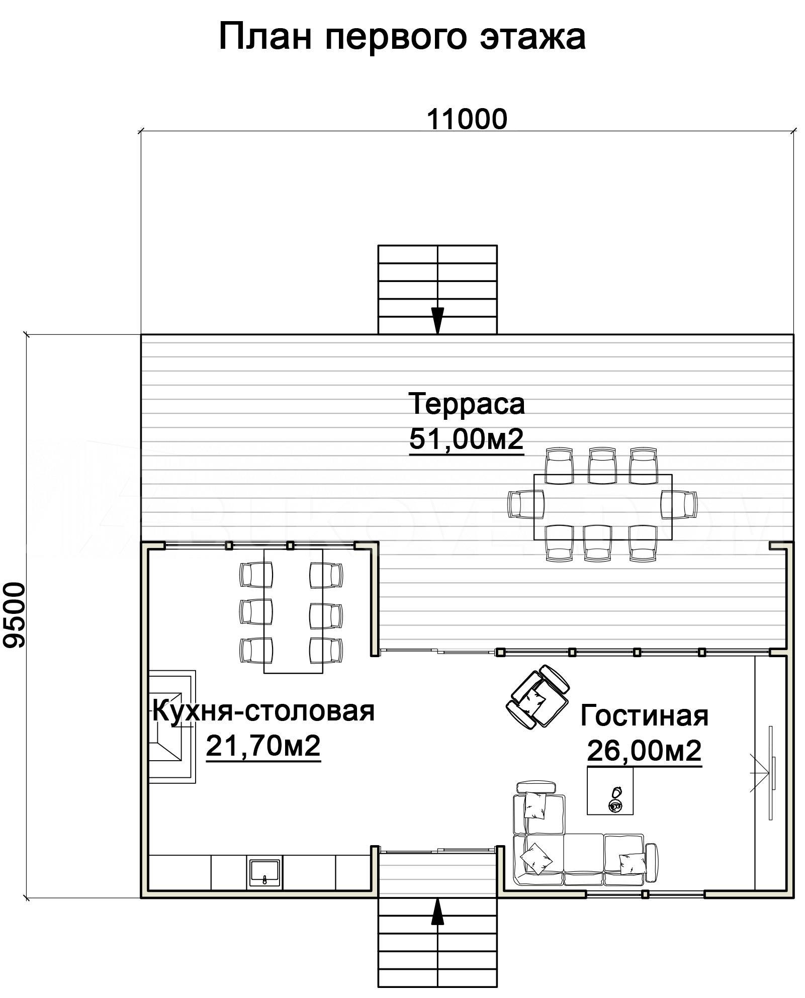 Беседка-патио в Воронеже