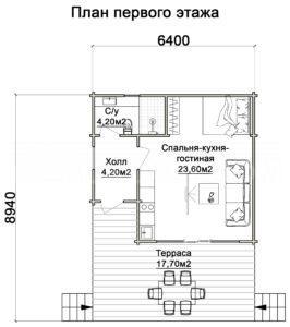 Мини-дом в Архызе
