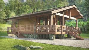 Мини-дом в Архызе 2
